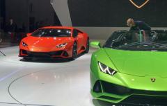 2019上海车展之兰博基尼:Huracán EVO国内首发